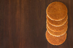 Dutch waffles Stock Images