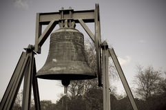 Dutch War Bell. Dutch World War II memorial war bell Stock Image