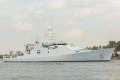Dutch War ship Zeeland Royalty Free Stock Photography