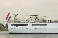 Dutch War ship Zeeland Stock Image