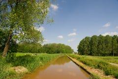 Dutch water landscape Stock Photos