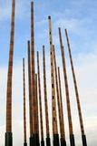 Dutch wind organ royalty free stock photos