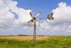 Dutch wind turbine Stock Photography