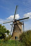 Dutch windmill. In the Netherlands Royalty Free Stock Photography