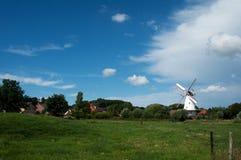 Dutch windmill Royalty Free Stock Image