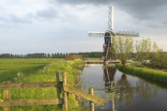 Dutch Windmill 2 Stock Photo
