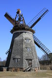 Dutch windmill. The Dutch windmill in Benz on the island of Usedom, Mecklenburg-Western Pomerania, Germany Royalty Free Stock Images