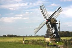 Dutch windmill Stock Image