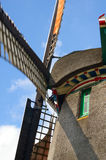 Dutch windmill. Picture of dutch windmill with nice green grass in front of them stock images