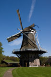 Dutch windmill. Near Apple, Netherlands royalty free stock photography