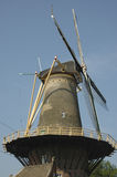 Dutch Windmill in Amsterdam. A traditional windmill in holland Stock Images