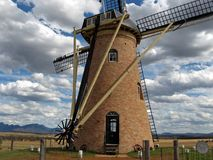 Dutch Windmill In Australia. Dutch windmill in a small village in Australia Royalty Free Stock Image