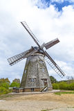 Dutch windmill in Benz Royalty Free Stock Image