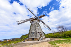 Dutch windmill in Benz Stock Photography