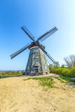 Dutch windmill in Benz Royalty Free Stock Photos