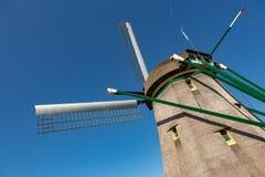 Dutch windmill. A dutch windmill in the blue sky Stock Photos