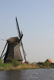 The Dutch windmill. Royalty Free Stock Photos