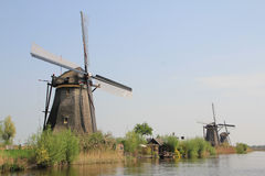 The Dutch windmill. Stock Image