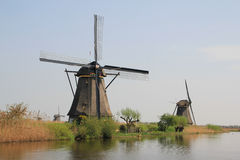 The Dutch windmill. Stock Photo