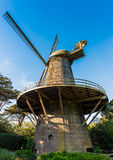 Dutch windmill - Golden Gate Park, San Francisco Stock Image