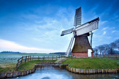 Free Dutch Windmill In Winter Royalty Free Stock Photos - 29378848