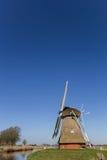 Dutch windmill `Krimstermolen` in Groningen Stock Image