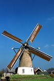 Dutch windmill in the Netherlands Stock Photo