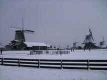 Dutch windmill . Park windmill. Netherland Royalty Free Stock Photo