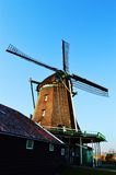Dutch windmill, symbol stock images