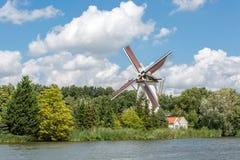 Dutch Windmill Stock Photo