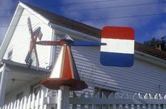 Dutch windmill weathervane, ID Royalty Free Stock Photos