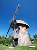 Dutch windmill from Zygmuntow, Lublin, Poland Royalty Free Stock Photography