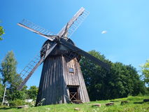 Dutch windmill from Zygmuntow, Lublin, Poland Royalty Free Stock Photo