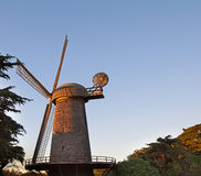 Dutch Windmilll in Golden Gate Park in San Francisco Stock Photos