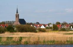 Dutch windmills Stock Image