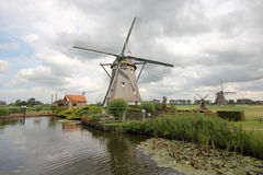 Dutch Windmills Royalty Free Stock Photos