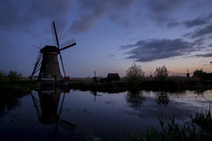 Dutch Windmills II Royalty Free Stock Photography