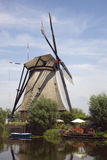 Dutch Windmills of Kinderdijk Royalty Free Stock Photo