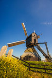 Dutch windmills Rotterdam. Royalty Free Stock Photo
