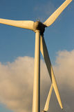Dutch windmills. Sky clouds wind Stock Photos
