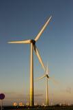 Dutch windmills. Sky wind holland Stock Photo