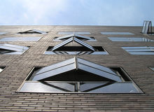 Dutch Windows. Amsterdam Royalty Free Stock Photography