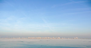 Dutch Winter Landscape Royalty Free Stock Photography
