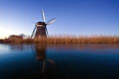 Dutch Winter scene Stock Photos