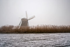 Dutch Winter Weather Stock Photography