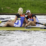 Dutch Women's pairs Stock Photo