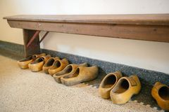 Dutch wooden clogs Stock Photography