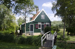 Dutch wooden house Royalty Free Stock Photos