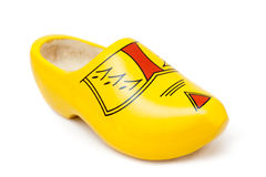 Dutch wooden shoe Stock Photos