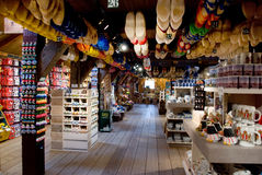Dutch wooden shoes Royalty Free Stock Photography